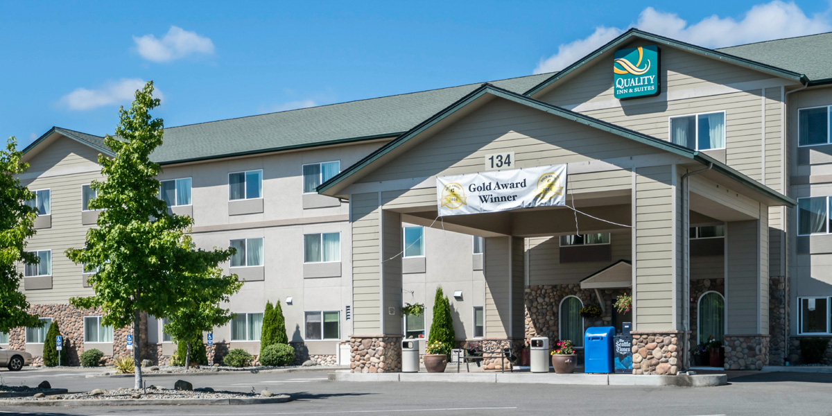 Exterior, Quality Inn & Suites, Sequim