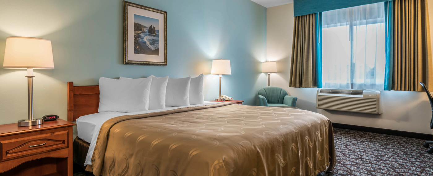 Quality Inn & Suites, Sequim, King Bed