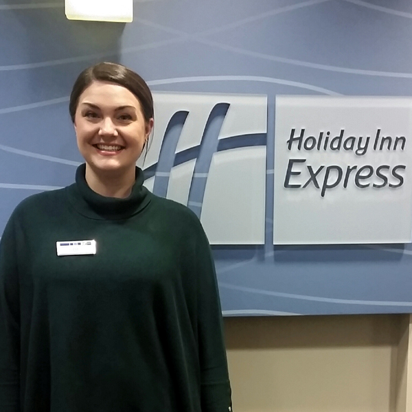 Namaste Cousins, Assistant General Manager & Director of Sales, Holiday Inn Express, Sequim