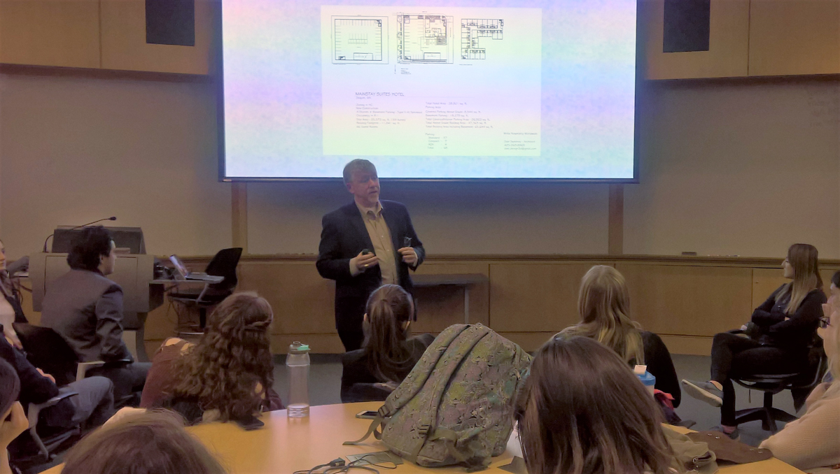 CEO BRET WIRTA LECTURES AT UNIVERSITY OF NEW HAMPSHIRE